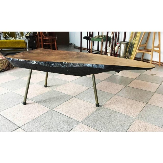 Mid-Century Modern Big Tree Table by Carl Aubock, 1950s For Sale - Image 3 of 11