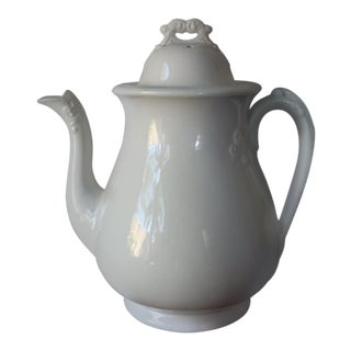 1920s Ironstone Teapot For Sale