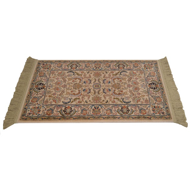 "Karastan Tabriz 2'6""x4'3"" Throw Rug (A) For Sale - Image 12 of 12"