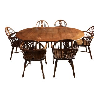 Stickley English Country Dining Set For Sale