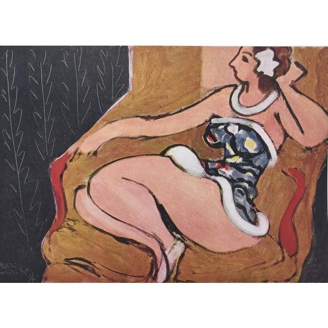 1943 Matisse Portfolio Lithographic Prints Book For Sale - Image 10 of 13