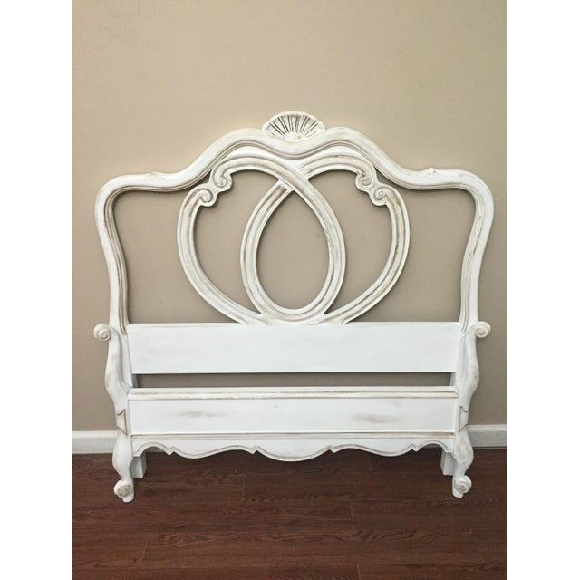 Vintage French Provincial Twin Size Bed - Image 2 of 7