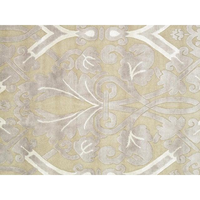 Pasargad Modern Silk & Wool Rug - 9′2″ × 11′10″ - Image 2 of 4