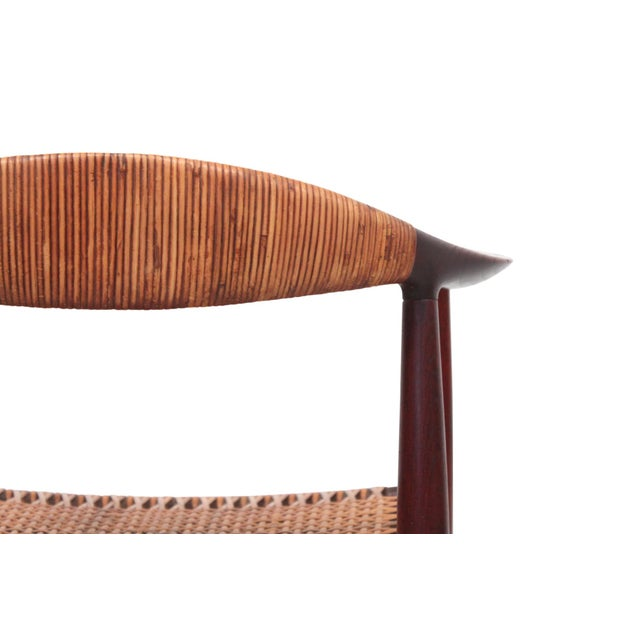 Hans Wegner Classic Cane Chair For Sale - Image 9 of 13
