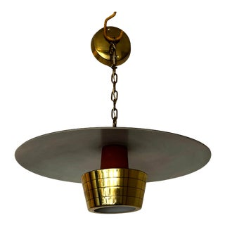 Mid-Century John Virden Pendant Ceiling Light Model V-1120 For Sale