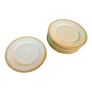 1910 WM Guerin Limoges for Gimbel Brothers Dinner Plates - Set of 10 For Sale