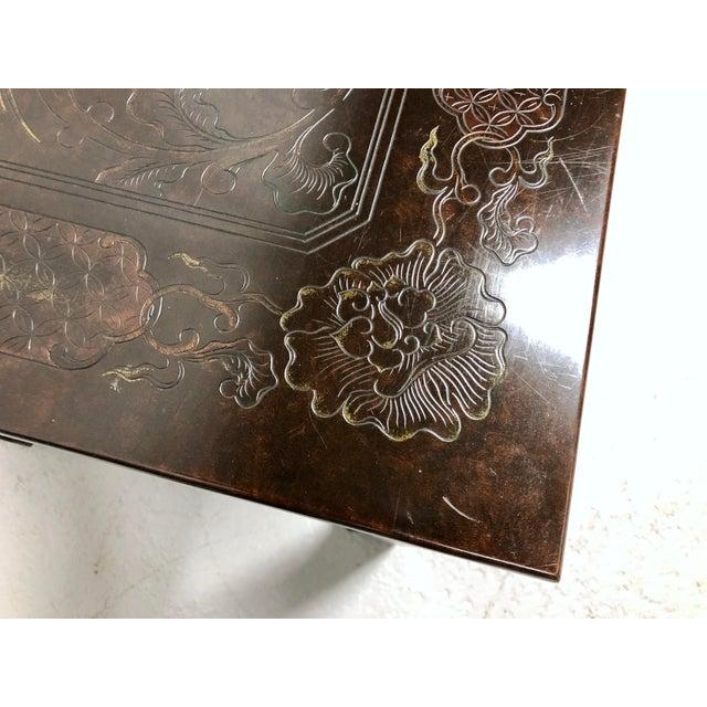 Mario Buatta for John Widdicomb Chinoiserie Coffee Table For Sale - Image 9 of 13