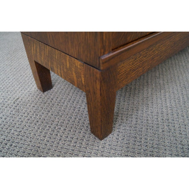 Globe Wernicke Antique Oak Two Section Bookcase - Image 5 of 10