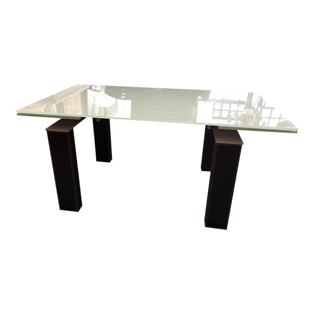 Bontempi Casa Mistrak Glass Extendable Dining Table - Image 1 of 10