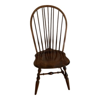 Nichols & Stone Gardener Maple Windsor Dining Side Chair For Sale