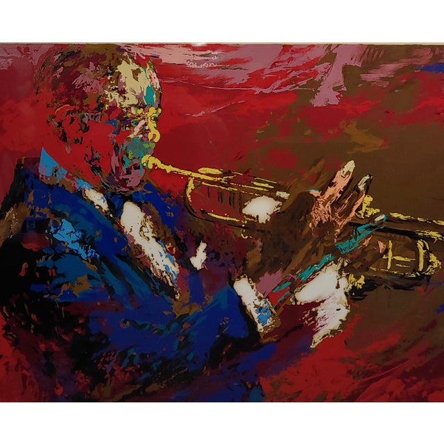 1976 Portrait Silkscreen of Satchmo Louis Armstrong by Leroy Neiman For Sale - Image 4 of 10