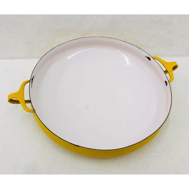 Yellow Vintage Dansk Enamel Cookware For Sale - Image 8 of 8