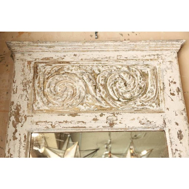 Painted Trumeau Mirror For Sale - Image 4 of 7