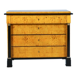 Antique Swedish Biedermeier Chest of Drawers, Circa 1830 For Sale