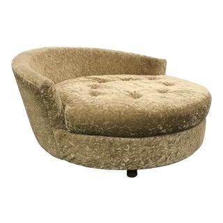 Vintage Mid-Century Modern Milo Baughman Chaise For Sale