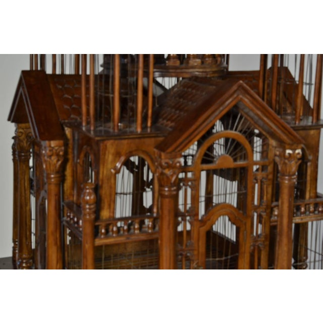 """Victorian """"Cathedral"""" Bird Cage For Sale - Image 3 of 7"""