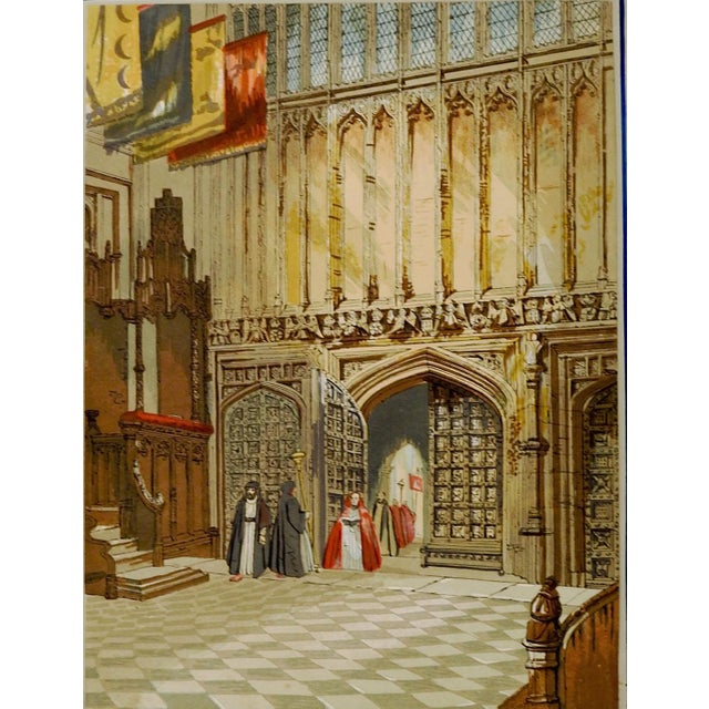 Henry 7th Chapel at Westminster Print For Sale - Image 4 of 4