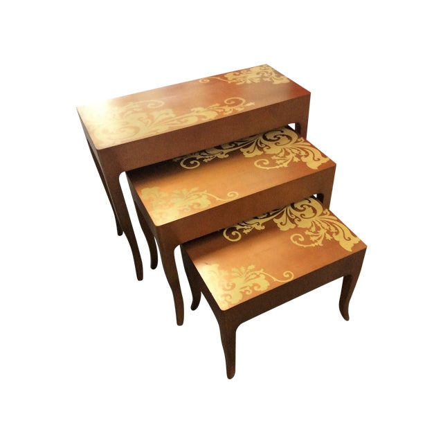 Contemporary Nesting Tables - Set of 3 - Image 1 of 8