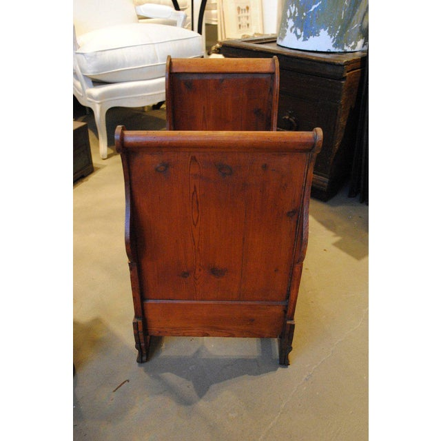 19th Century Dolls or Dog Sleigh Bed For Sale In Boston - Image 6 of 8