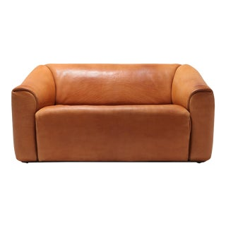 De Sede Ds 47 Cognac Leather Sofa For Sale