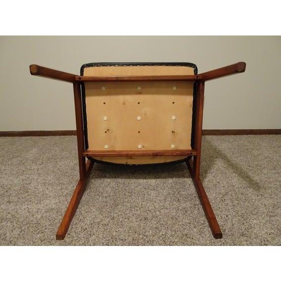 Mid Century Danish Modern Svegards Markaryd Arm Chair For Sale - Image 10 of 11