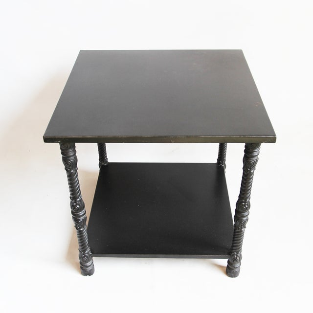 Blackened Iron Side Table - Image 4 of 4