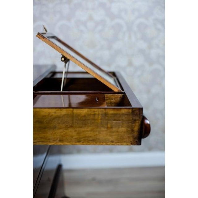 Wood 1860s Biedermeier Dresser-Vanity Table For Sale - Image 7 of 13