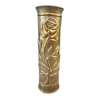 WWI Trench Art Vase For Sale