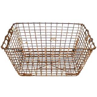 Vintage Oyster Baskets For Sale