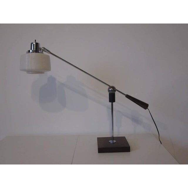 Heifetz Adjustable Desk or Table Lamp by Gilbert Waltrous For Sale - Image 9 of 9