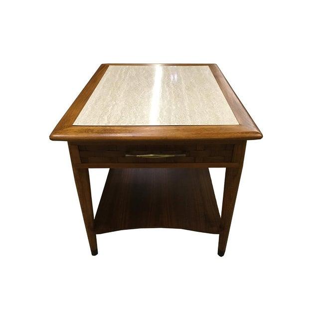 Mid-Century Modern Walnut Side Table - Image 3 of 6