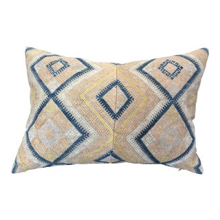 Antique Chinese Wedding Blanket Pillow For Sale