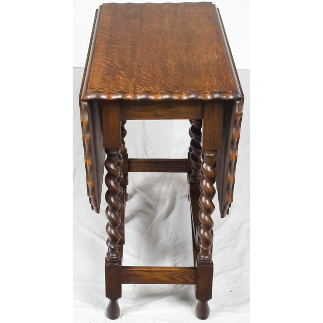 The English gate leg table is an iconic piece of furniture that can be used with all styles of furniture and decorating....