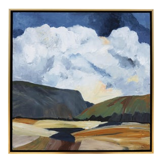 "Laurie MacMillan ""Force Field"" Abstract Landscape For Sale"