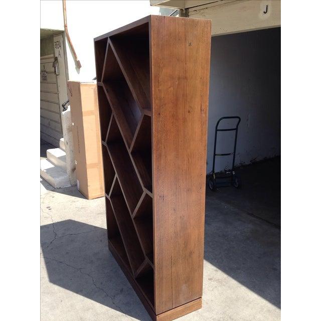 Diagonally Slanted Standing Bookshelf - Image 4 of 5