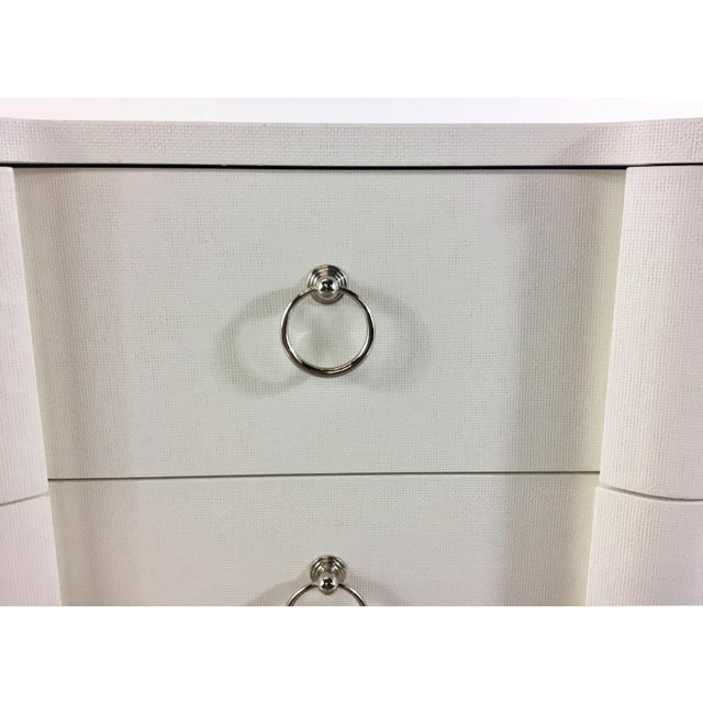 Lacquer Bungalow 5 Bardot Three Drawer White Chest For Sale - Image 7 of 8