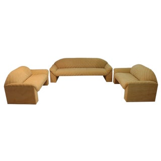 Mid Century Modern Harvey Probber Set of 3 Sofa and 2 Loveseats For Sale