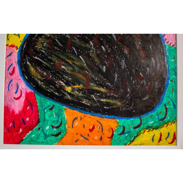 Authentic Haitian Art Original - Image 2 of 3
