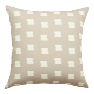 Pepper Denton in Grey Pillow For Sale