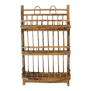 Bamboo Wall Shelf For Sale