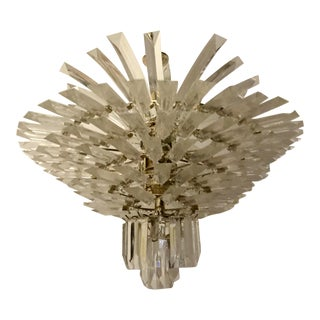 Starburst Lucite Chandelier For Sale