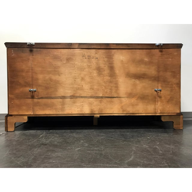 Hickory Chair James River Plantation Mahogany Double Dresser For Sale - Image 9 of 11