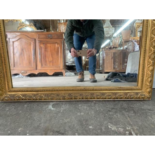 Early 18th Century 18th Century French Louis Philippe Period Mirror For Sale - Image 5 of 7