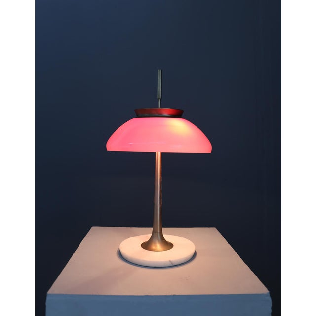 Metal Table Lamp Stilnovo Mod 8091 , Milan 1950. For Sale - Image 7 of 7