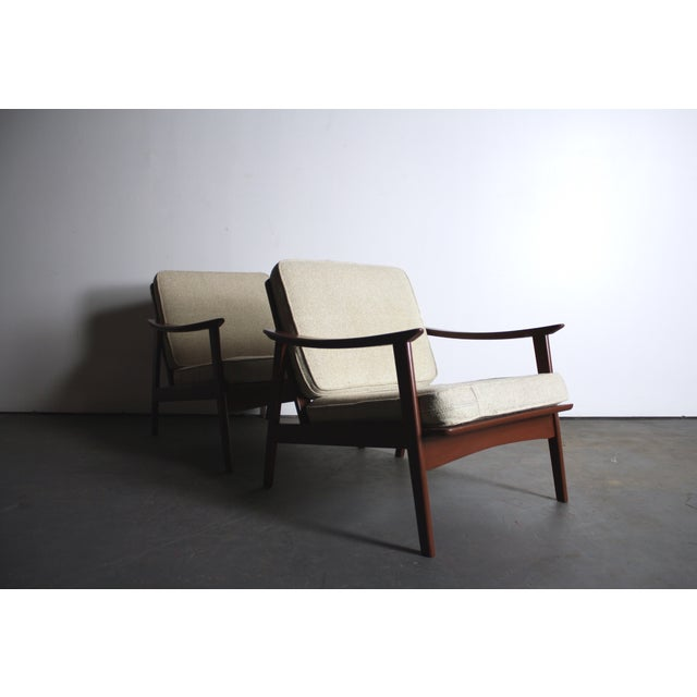 Mid Century Modern Yugoslavian Chairs - Pair - Image 3 of 4