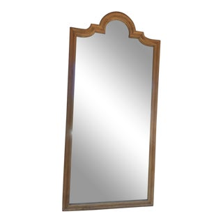 Vintage Wooden Wall Mirror For Sale