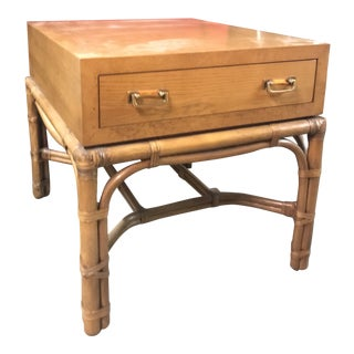 19th Century Campaign Side Table For Sale