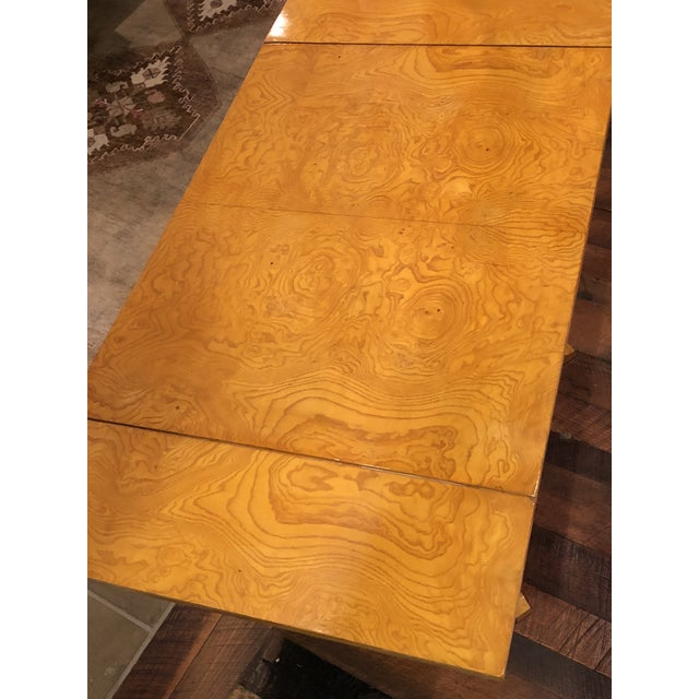 Maple Art Deco Maple Drop-Leaf Table For Sale - Image 7 of 10