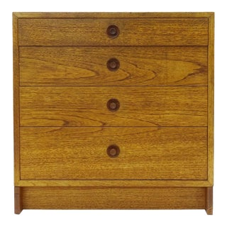 1960s Karl Anderson Scandinavian Chest of Drawers in Oak, Borge Mogensen For Sale