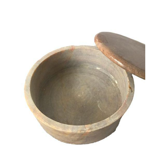 Round Granite Spice Canister - Image 2 of 5